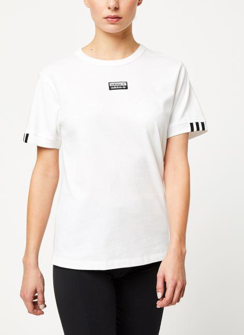 Vêtements adidas originals Vocal T Shirt Blanc vue détail/paire