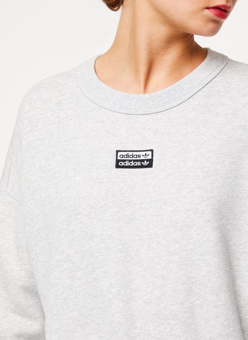 Vêtements adidas originals Vocal Sweat Gris vue face