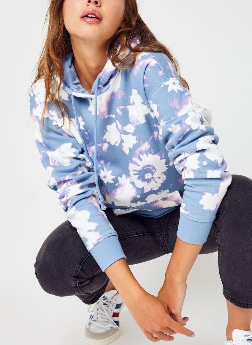 Vêtements adidas originals Hoodie Multicolore vue détail/paire