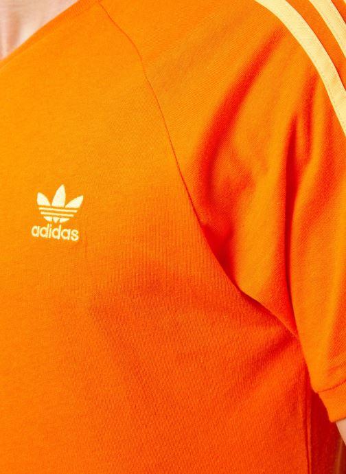 Kleding adidas originals Blc 3-S Tee Oranje voorkant