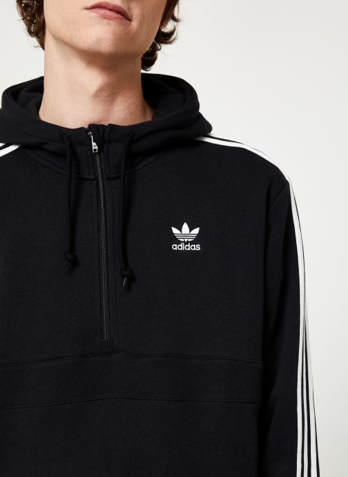 Vêtements adidas originals 3-Stripes Hz Noir vue face