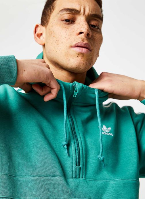 Vêtements adidas originals 3-Stripes Hz Vert vue face