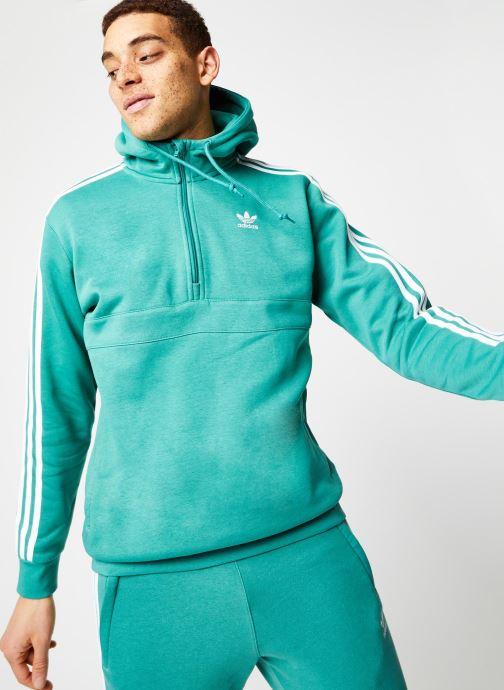 Vêtements adidas originals 3-Stripes Hz Vert vue détail/paire