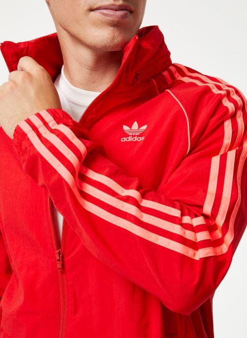 Vêtements adidas originals Blc Sst Wb Rouge vue face