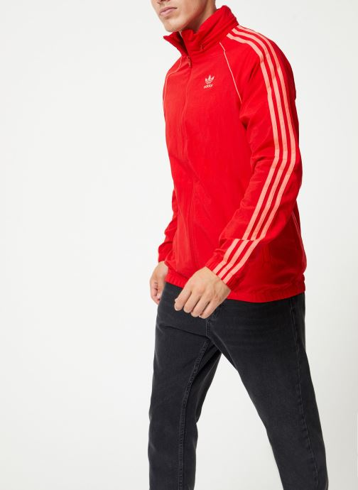 Vêtements adidas originals Blc Sst Wb Rouge vue droite