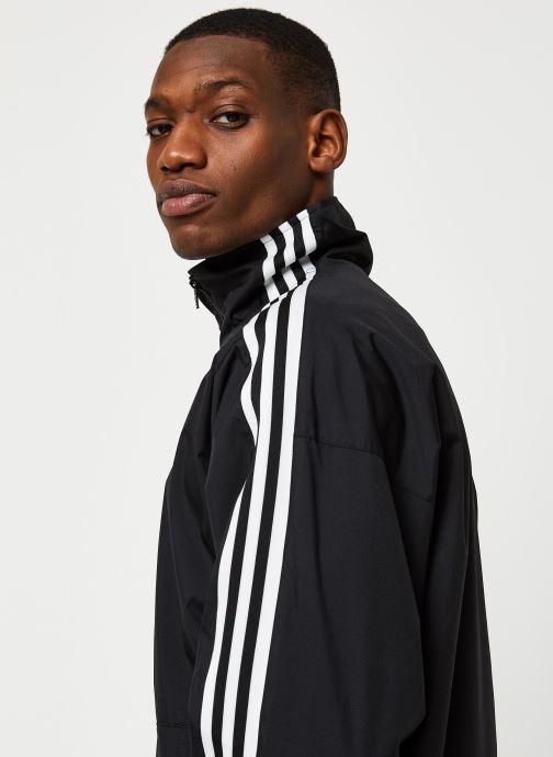 Vêtements adidas originals Lock Up Tt Noir vue face