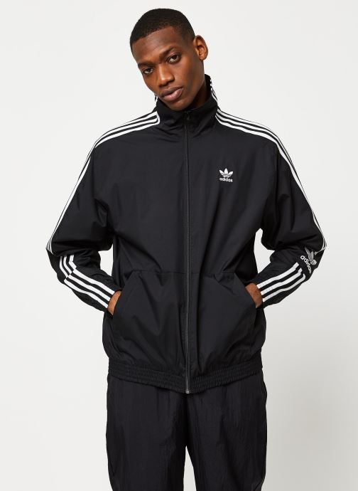 Vêtements adidas originals Lock Up Tt Noir vue droite