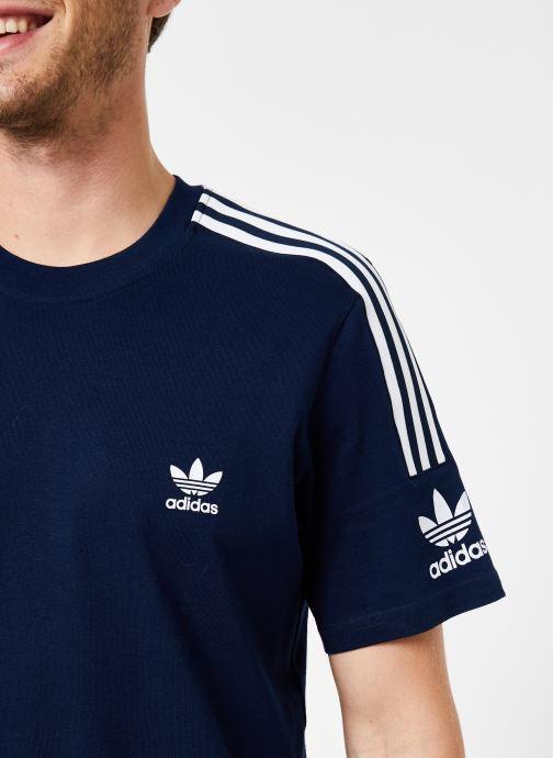 Tøj adidas originals Lock Up Tee Blå se forfra