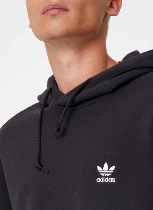 Vêtements adidas originals Lock Up  Hoody Noir vue face