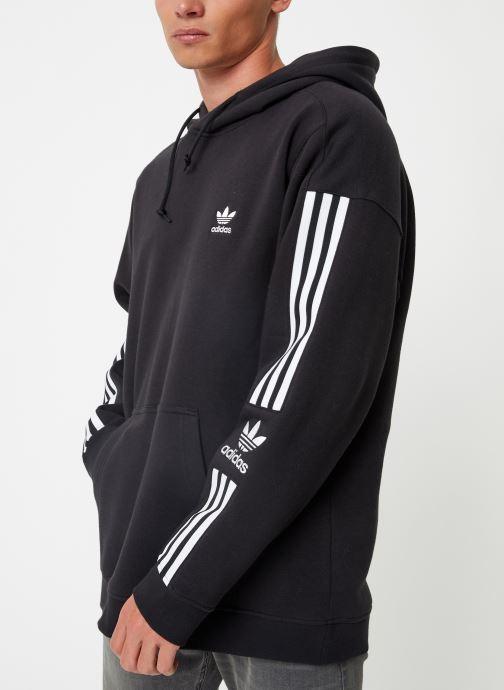 Vêtements adidas originals Lock Up  Hoody Noir vue détail/paire