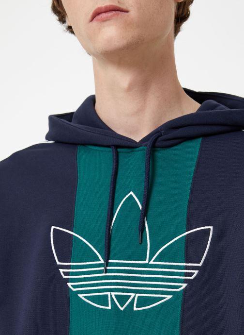 Tøj adidas originals Off Court Trefo Grøn se forfra