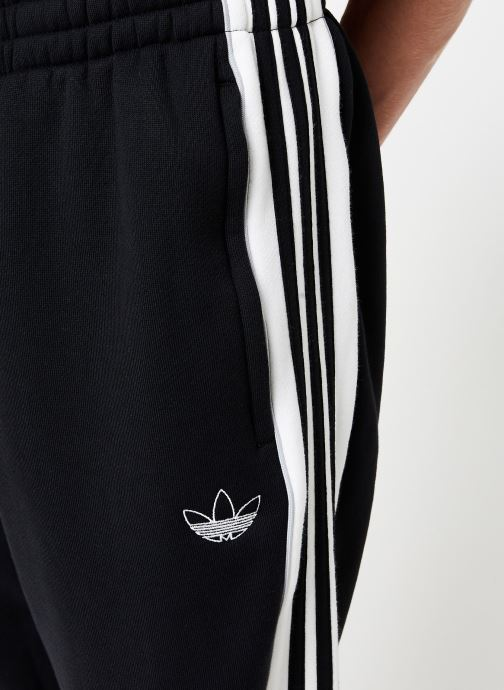 Vêtements adidas originals 3 Stripe Panel Noir vue face