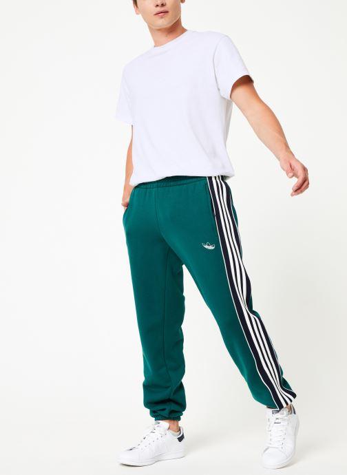 Tøj adidas originals 3 Stripe Panel Grøn se forneden