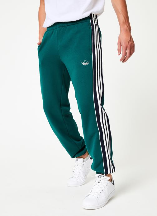 Kleding adidas originals 3 Stripe Panel Groen detail