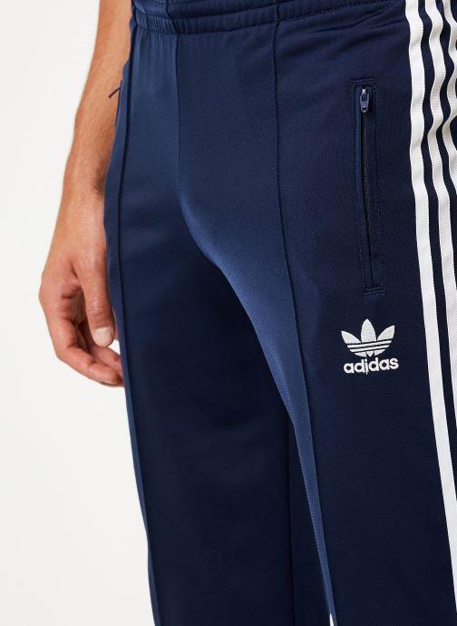 Vêtements adidas originals Firebird Tp Bleu vue face