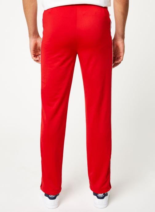Vêtements adidas originals Firebird Tp Rouge vue portées chaussures