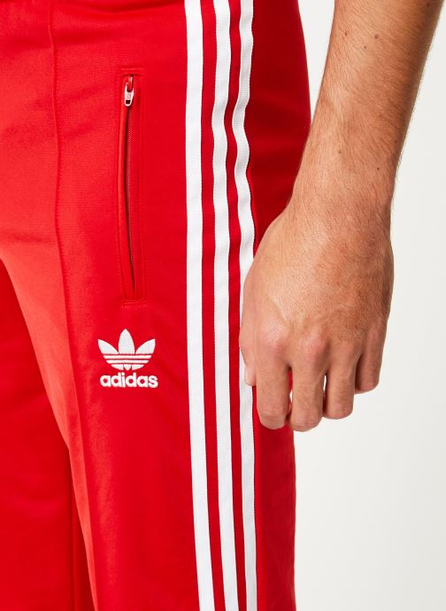 Vêtements adidas originals Firebird Tp Rouge vue face