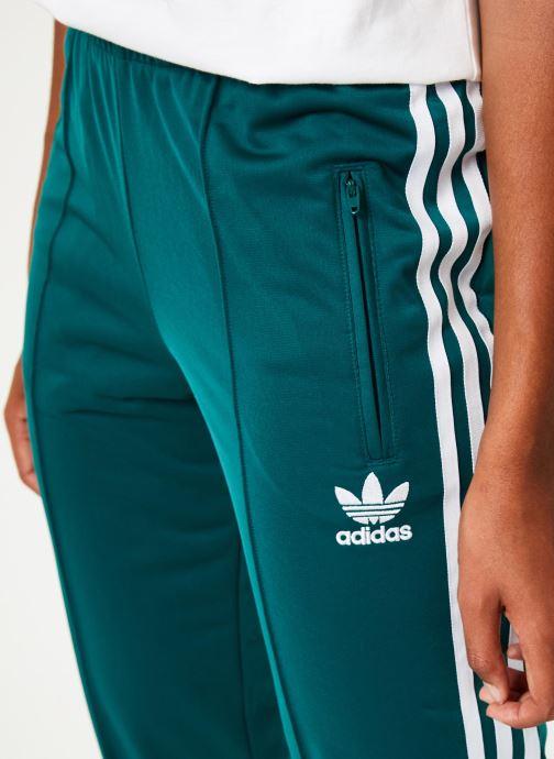 Vêtements adidas originals Firebird Tp Vert vue face