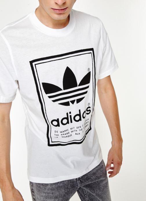 adidas originals T shirt Vintage Tee (Blanc) Vêtements