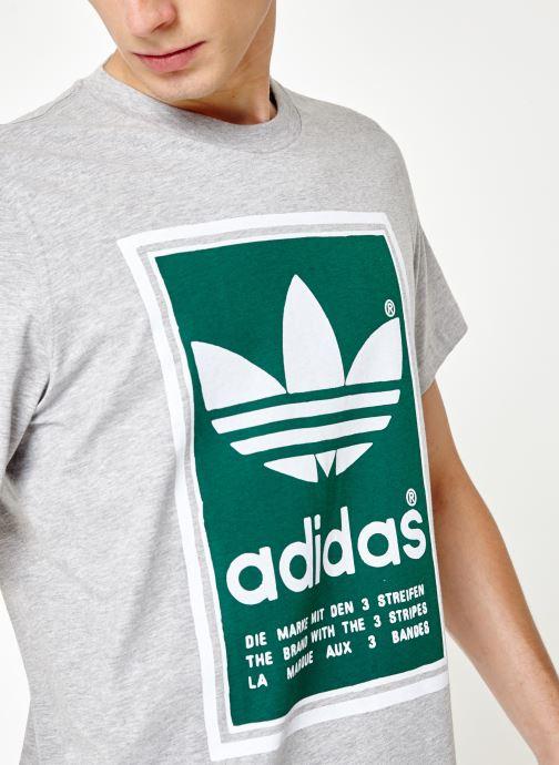 Vêtements adidas originals Filled Label Gris vue face