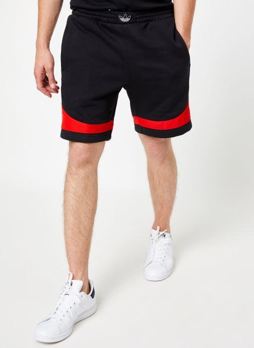 Vêtements adidas originals Ts Trf Short Noir vue détail/paire