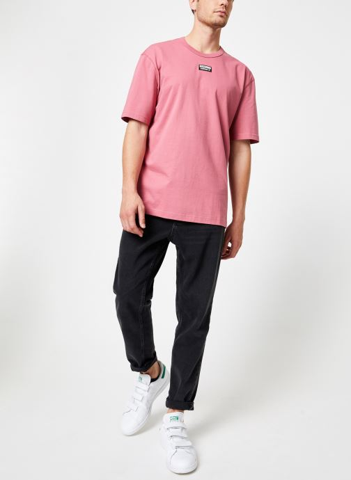 adidas originals T-shirt - R.Y.V. Tee (Rose) - Vêtements (399369)