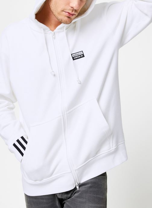 sweat blanc adidas homme