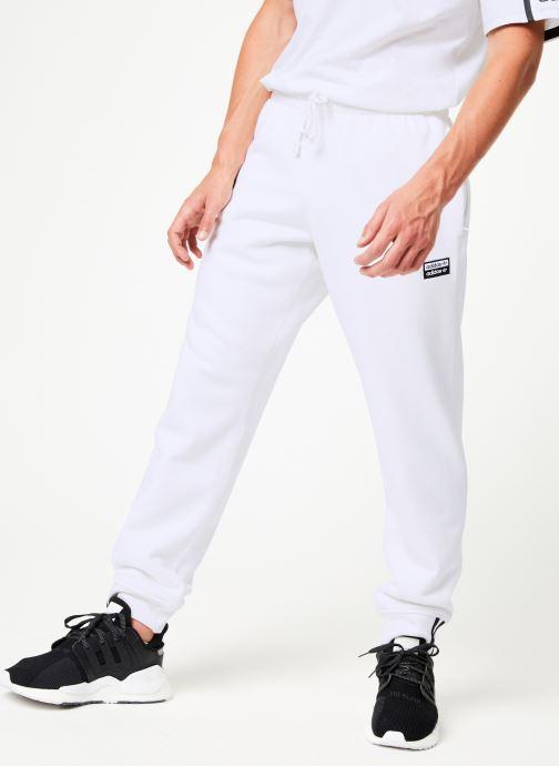 Vêtements adidas originals R.Y.V Sweatp Blanc vue détail/paire