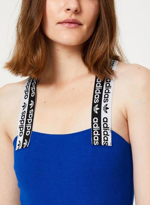 Vêtements adidas originals Body Bleu vue face