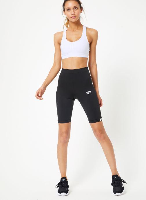 Vêtements adidas originals Cycling Tights Noir vue bas / vue portée sac