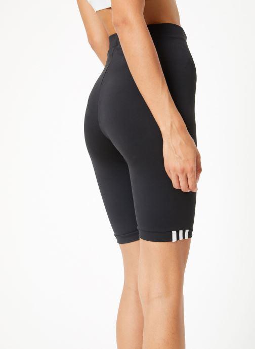 Vêtements adidas originals Cycling Tights Noir vue portées chaussures