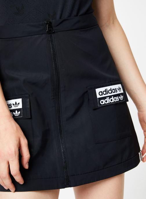 Vêtements adidas originals Skirt Noir vue face
