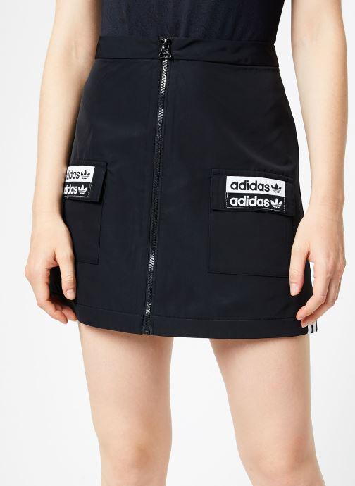 Vêtements adidas originals Skirt Noir vue détail/paire