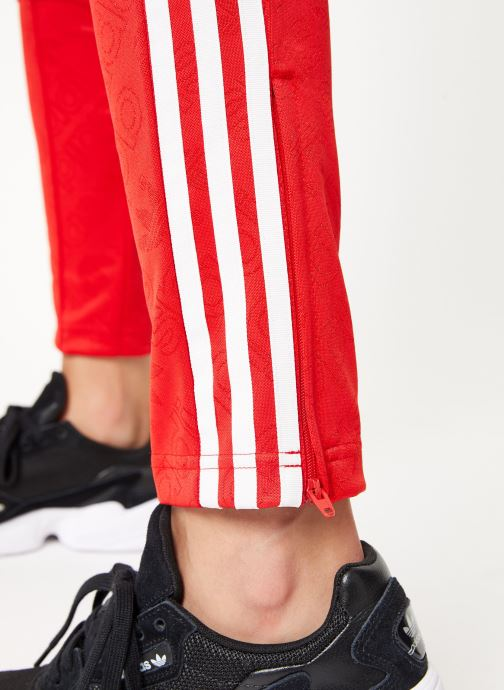 Kleding adidas originals Ss Tp Rood voorkant