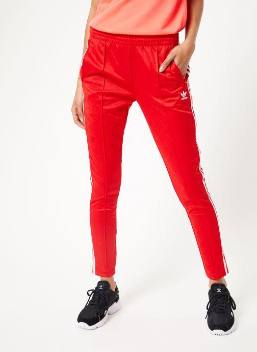 Vêtements adidas originals Ss Tp Rouge vue détail/paire