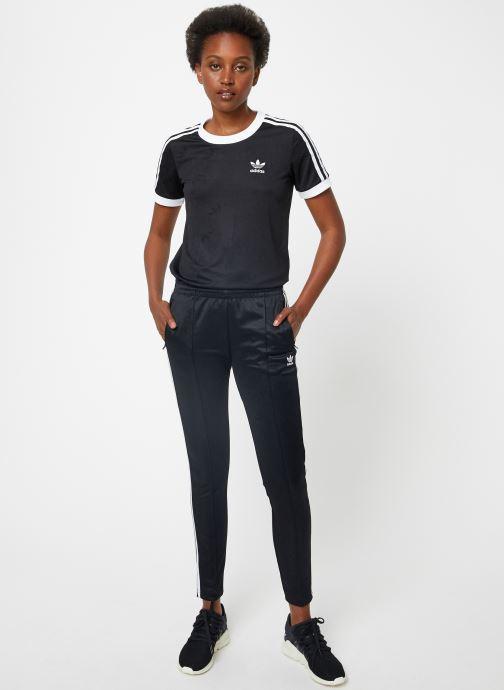 Kleding adidas originals Ss Tp Zwart onder
