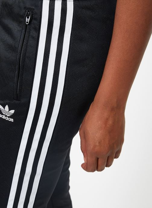 Kleding adidas originals Ss Tp Zwart voorkant