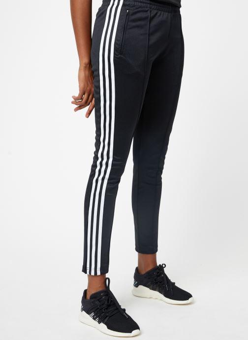 Kleding adidas originals Ss Tp Zwart detail