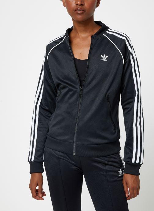 Kleding adidas originals Ss Tt Zwart rechts