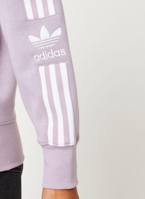 Vêtements adidas originals Lock Up Sweat Rose vue face