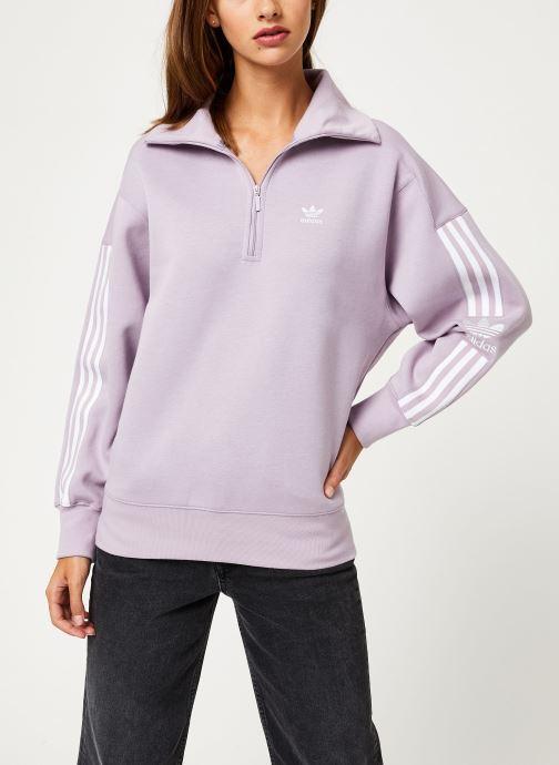 Vêtements adidas originals Lock Up Sweat Rose vue détail/paire