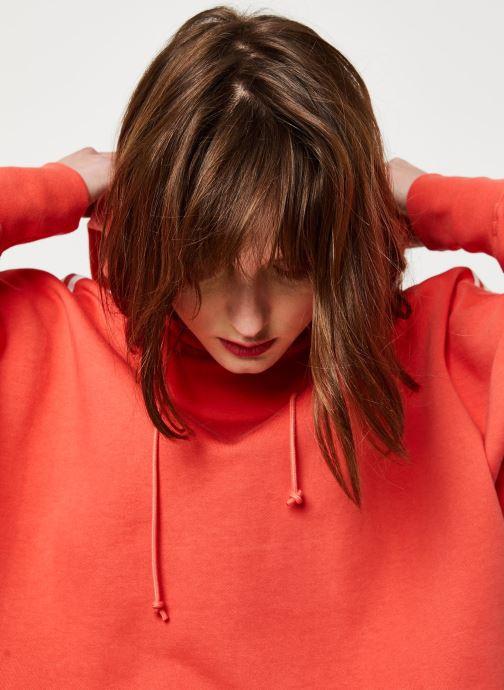 Vêtements adidas originals Cropped Hood Orange vue face