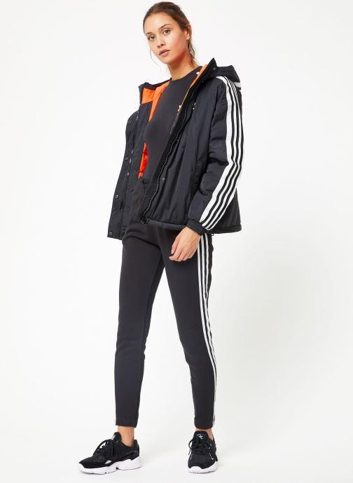 Tøj adidas originals Short Syn Down Sort se forneden