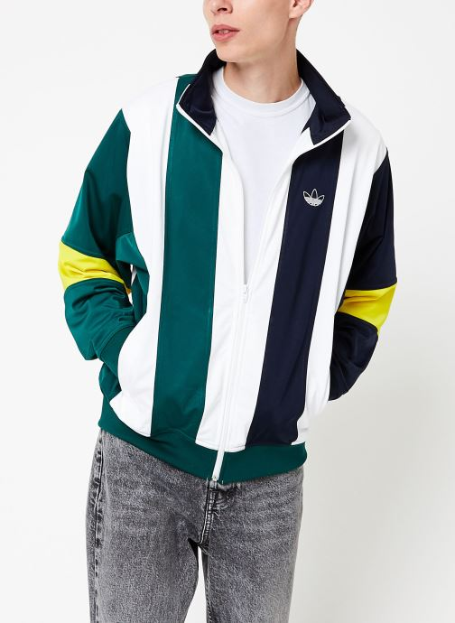 Vêtements adidas originals Bailer Tt Blanc vue détail/paire