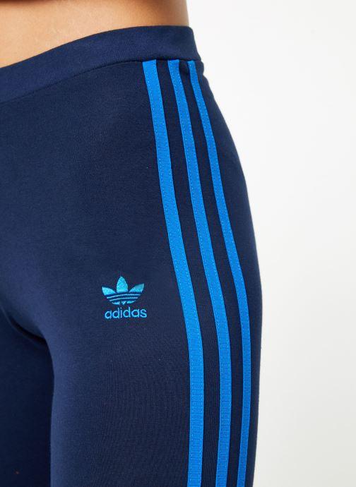 Kleding adidas originals 3 Str Tight Blauw voorkant