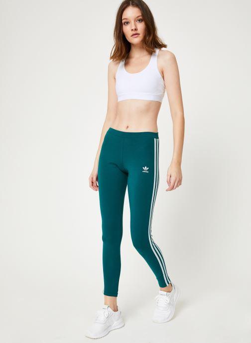 Kleding adidas originals 3 Str Tight Groen onder