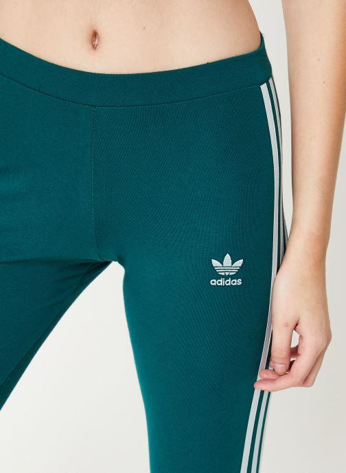 Kleding adidas originals 3 Str Tight Groen voorkant
