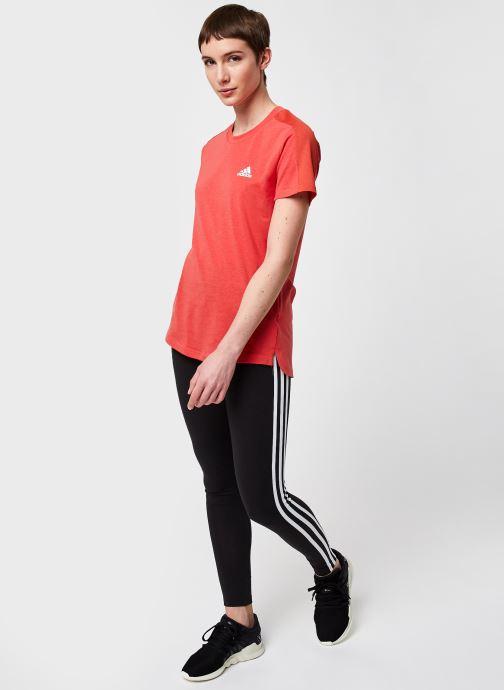 Vêtements adidas originals 3 Str Tight Noir vue bas / vue portée sac