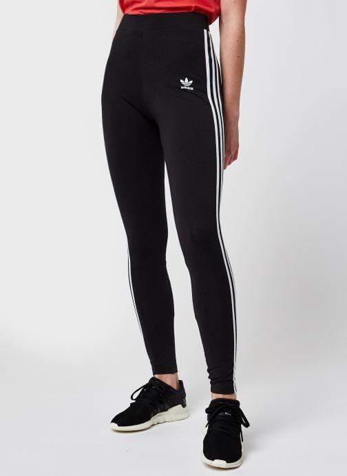 Vêtements adidas originals 3 Str Tight Noir vue détail/paire