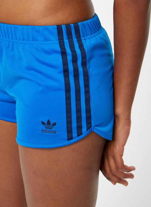 Vêtements adidas originals 3 Str Short Bleu vue face